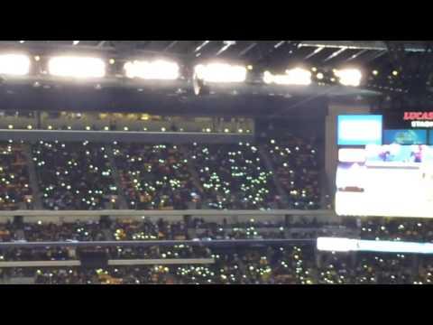 Lights on in Lucas Oil Stadium