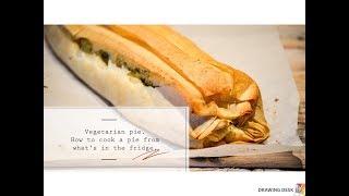 Vegetarian pie with broccoli/ Пирог из брокколи #paleo #broccoli  #delicious #healthy #food