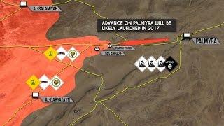 28 декабря 2016. Военная обстановка в Сирии. Эрдоган обвинил США в помощи ИГИЛ. Русский перевод.