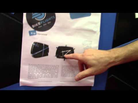 SRM Trading Bicycle Transport Cases - Interbike 2015 - BikemanforU In Vegas
