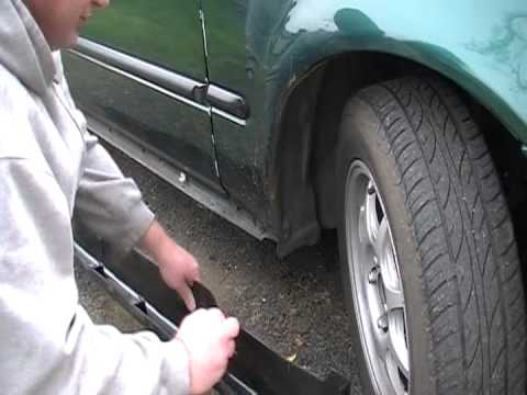 99 Civic Side Skirt Youtube