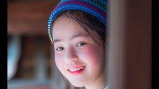Mỹ nhân nhỏ Hà Giang -Vàng Thị Sinh cô bé nhỏ đáng yêu bán hàng giúp gia đình