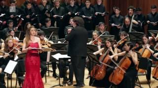 Salm 42 Mendelssohn: Wie der Hirsch schreit - Orq. Simfònica i Cor de Cambra i d'alumnes