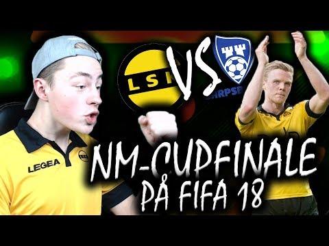 NM-CUPFINALEN I FIFA!! 💥  SARPSBORG 08 vs LILLESTRØM 🔥 | NORSK FIFA 18