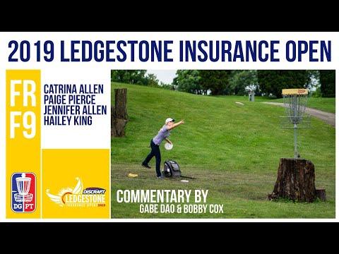 DGPT | Discraft 2019 Ledgestone Insurance Open | Final RD, F9, FPO | Allen, Pierce, King, Allen