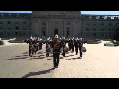 Noon Meal Formation with Scots HM Royal Marine Band