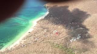 9/17/17 Cinnamon Bay headed East, St John USVI after Hurricane Irma