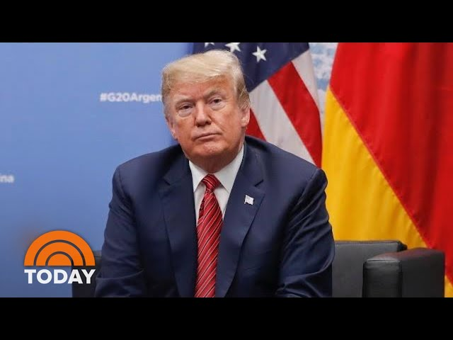 Michael Cohen's Guilty Plea Has President Donald Trump 'Rattled,' Chuck Todd Says | TODAY