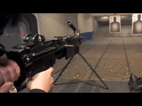 FN  M249 SAW FN Minimi M249 SAW  YouTube