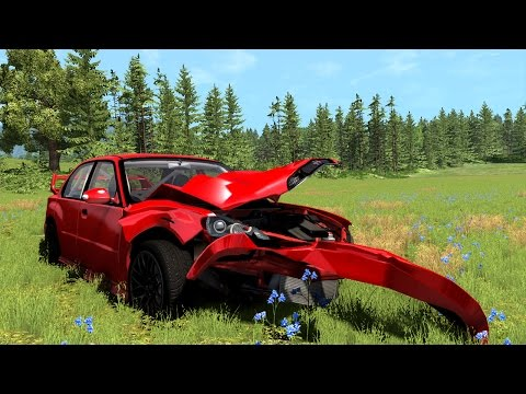 Crashed My New Car!! The Delivery Failure!! (BeamNG Drive)