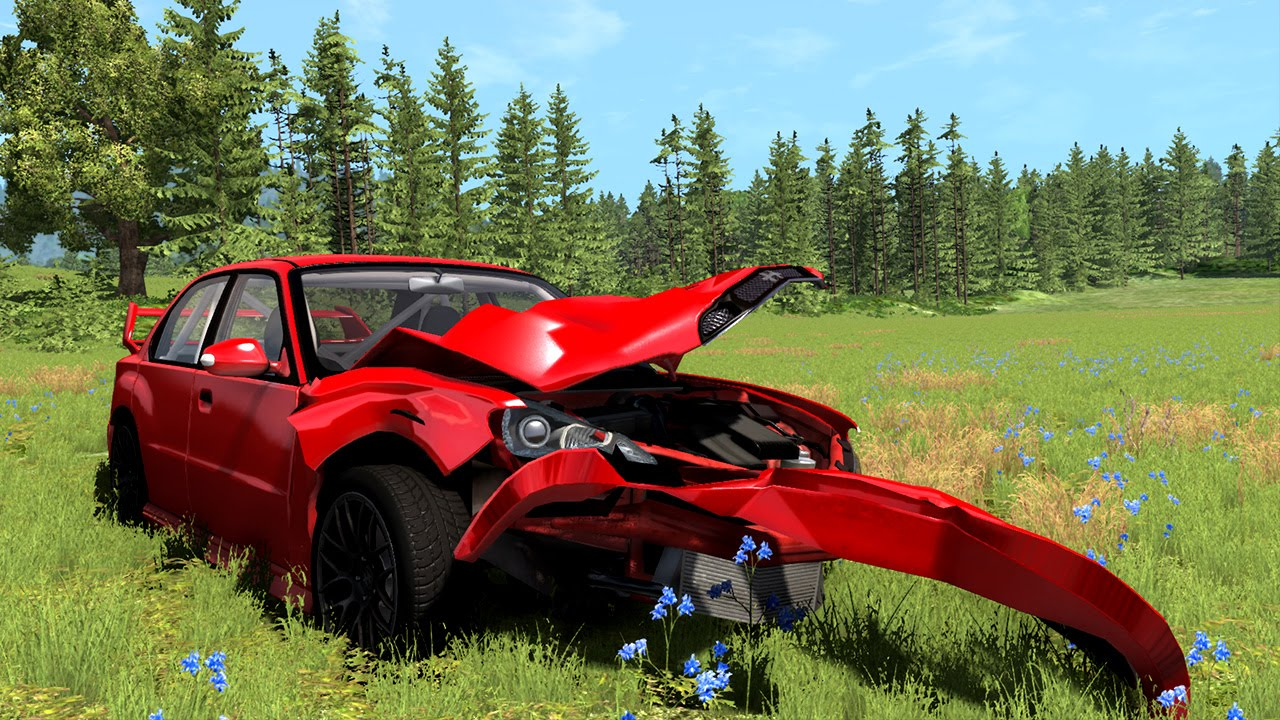 Crashed My New Car!! The Delivery Failure!! (BeamNG Drive