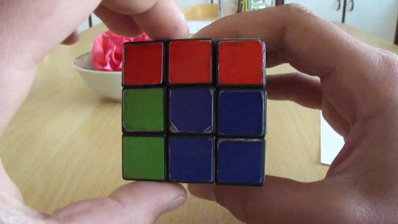 Download How to solve a Rubik's cube step 7 (Finishing the cube)