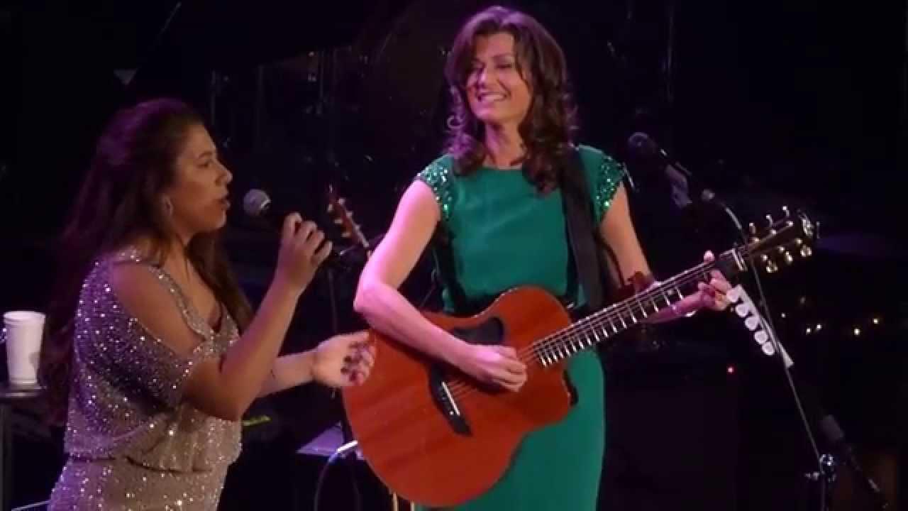 Amy Grant & Corrina Gill at the Ryman