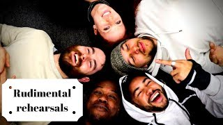 Rehearsals for Rudimental These Days | Vlog#4 | Locksmith Rudimental