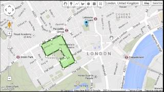 JQuery GoogleMaps - Editor Demo Free HD Video