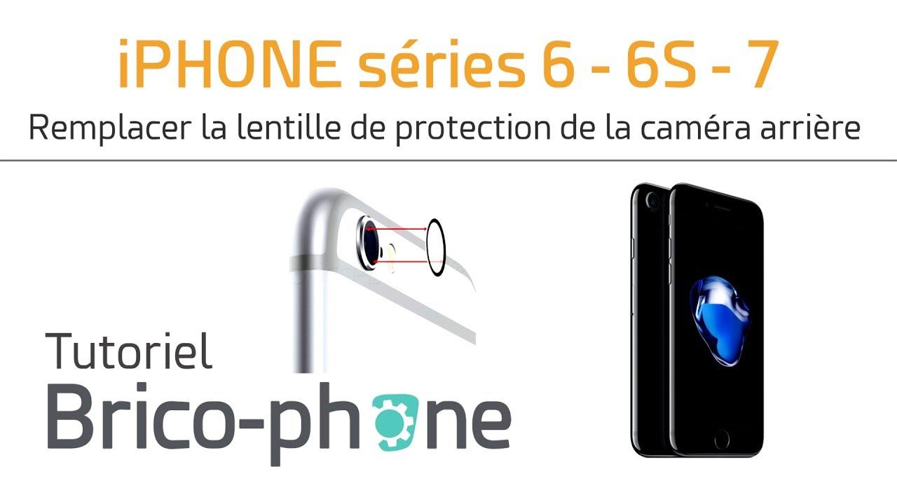 Tutoriel iPhone série 6 6s et 7   remplacer la lentille de protection de la caméra  arrière 5b8bb92e1e03