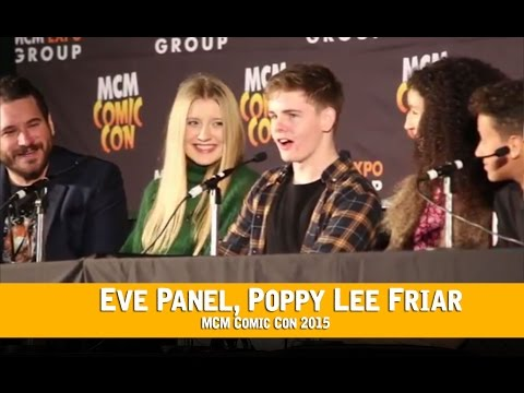 Eve CBBC Panel HD MCM London Comic Con, Poppy Lee Friar
