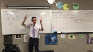Greatest Coefficient (4 of 5: Finding the general ratio between the two coefficients and k)