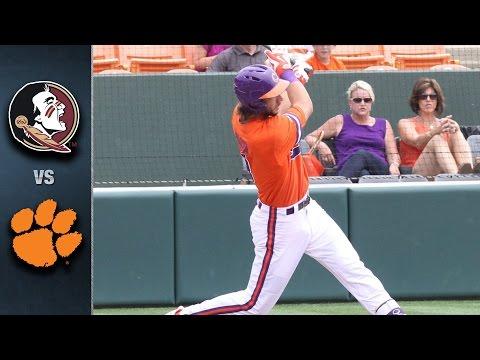Florida State vs. Clemson Baseball Highlights (April 30, 2016)