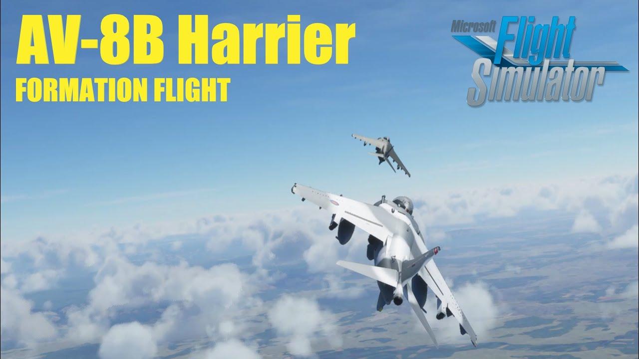 Microsoft Flight Simulator Harrier Mod addon Showcase ...