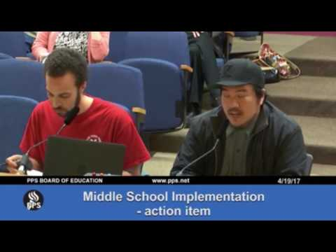 Controversial teacher criticism from Portland Public Schools board meeting