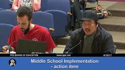 Controversial teacher criticism from Portland Public Schools board meeting