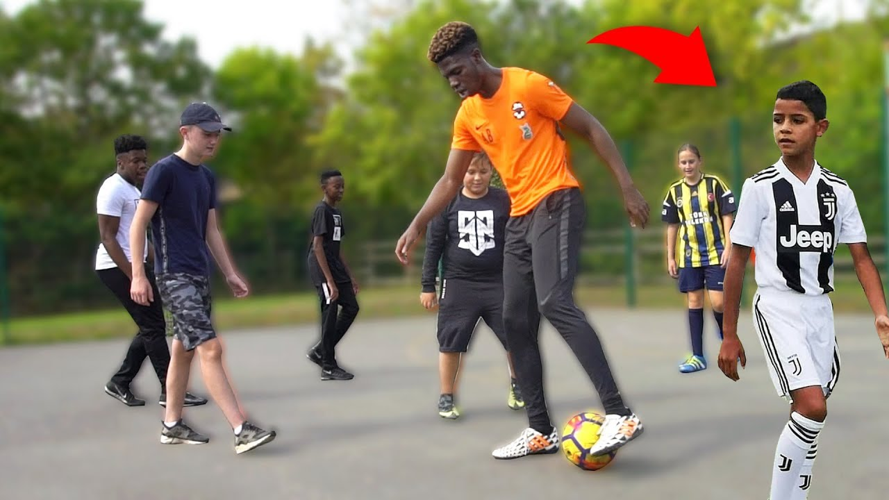 Playing SOCCER Match vs CRISTIANO