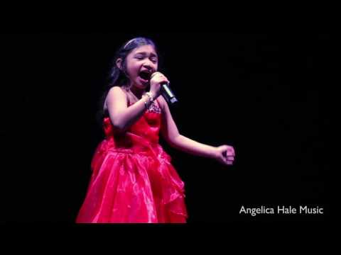 Angelica Hale Sings All I Want For Christmas in Hollywood, CA  Dance For Kids