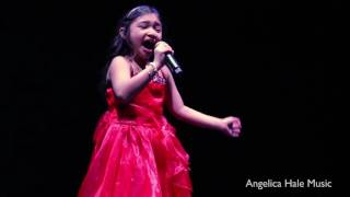 """Angelica Hale Sings """"All I Want For Christmas"""" in Hollywood, CA - Dance For Kids"""