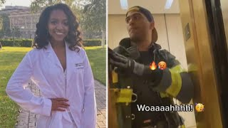 Woman Wants to Date Firefighter Who Rescued Her in Elevator