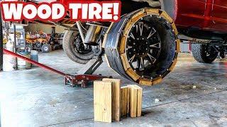 making-a-tire-using-wood-blocks-will-it-work