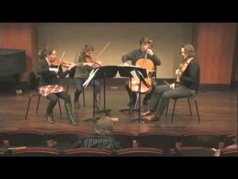 Voxare String Quartet Performs Beethoven's Grosse Fuge for Robert Mann (Excerpt)