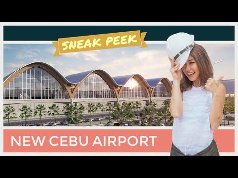Sneak Peek of The New Cebu Airport | Kryz Uy