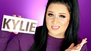 KYLIE COSMETICS Royal Peach Palette Review + Demo | HONEST THOUGHTS!!