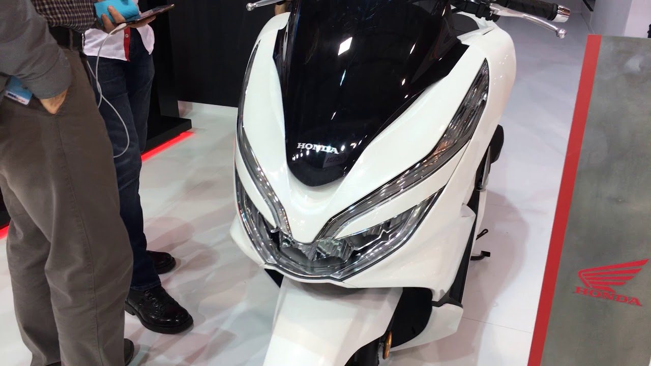 2018 honda pcx 125 motobike istanbul 2018 youtube. Black Bedroom Furniture Sets. Home Design Ideas