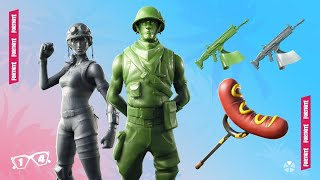 Fortnite Battle Royale PS4 Gameplay - Toy Skins In Shop! - Open Creative! - Use Code: BoomBeatle3