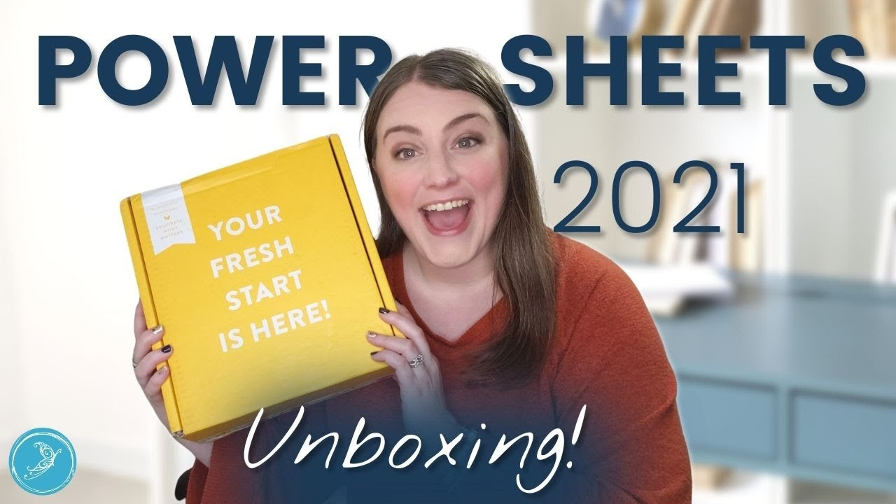 Powersheets 2021 Unboxing!
