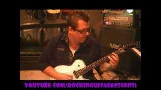 How to play Get The Funk Out Ma Face by The Brothers Johnson on guitar