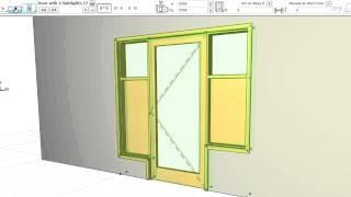 Улучшенные Двери с Боковыми Панелями