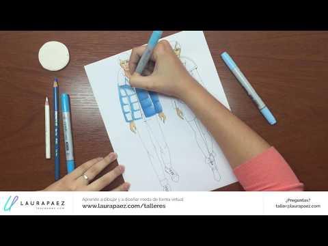 ¿Cómo funcionan mis cursos virtuales de dibujo y diseño de moda?
