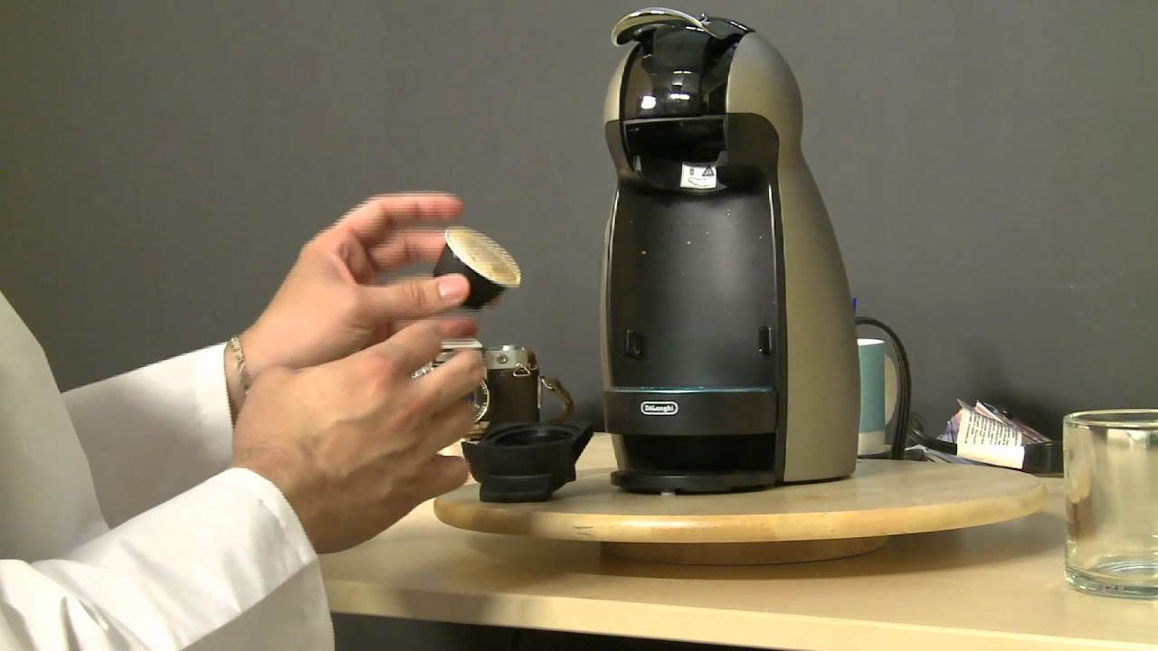Hands-On With the Nescafe Dolce Gusto Genio Coffee Maker - YouTube