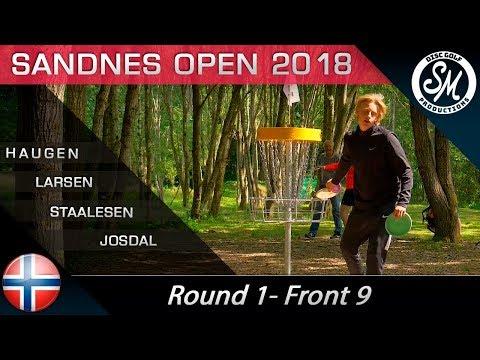 Sandnes Open 2018 | Round 1 Front 9 | Haugen, Larsen, Staalesen, josdal