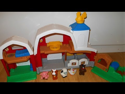 Fisher Price Little People Animal Sounds Farm/barn  Toy Review
