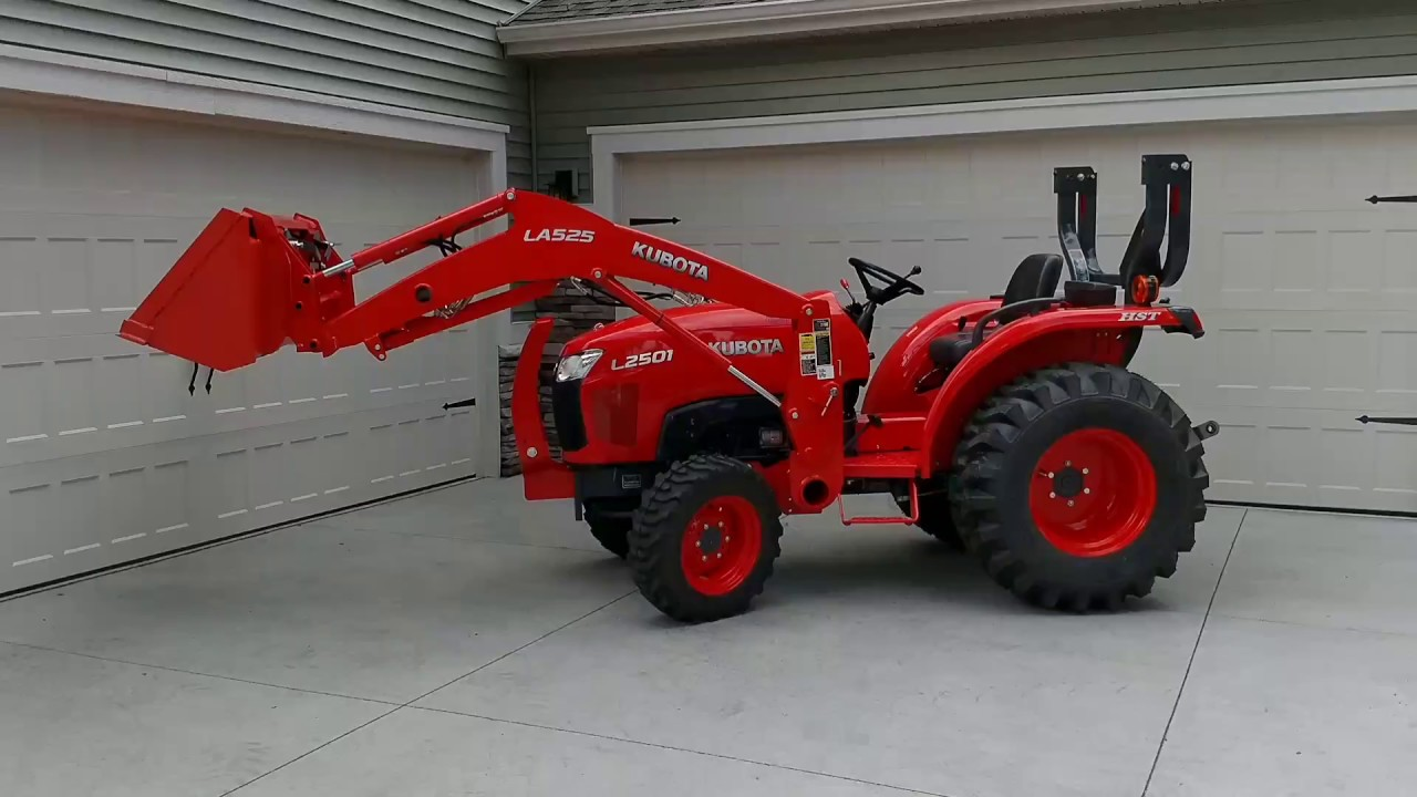 2017 Kubota L2501 4WD Compact Tractor