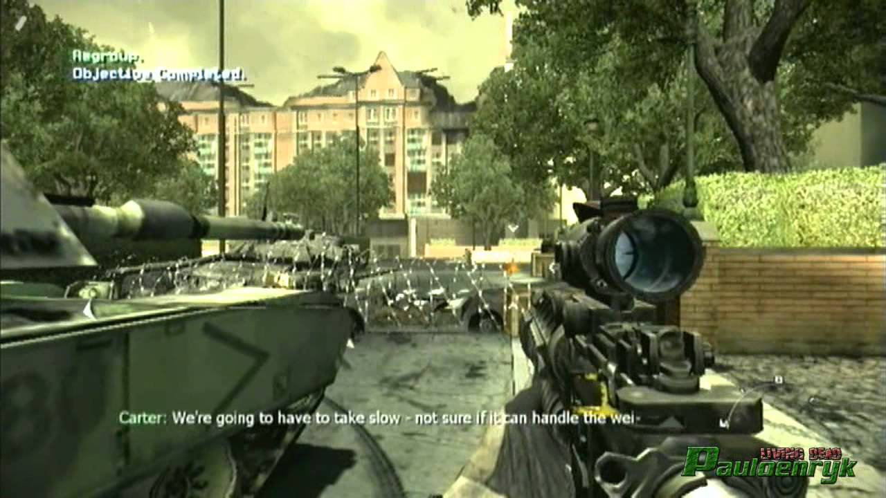 Call Of Duty Modern Warfare 3 Wii Gameplay Youtube