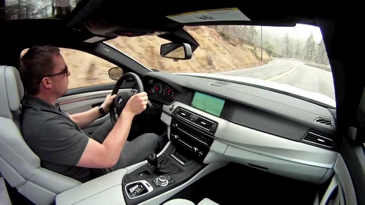 BMW F10 M5 Manual Drive  YouTube