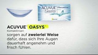 Johnson & Johnson ACUVUE OASYS(Sie möchten die Acuvue Oasys 2-Wochenlinsen gerne einmal testen? Hier Portofrei bestellen: www.lensbest.de/youtube-invideo Die 2-Wochenlinse ACUVUE ..., 2014-08-14T13:52:09.000Z)