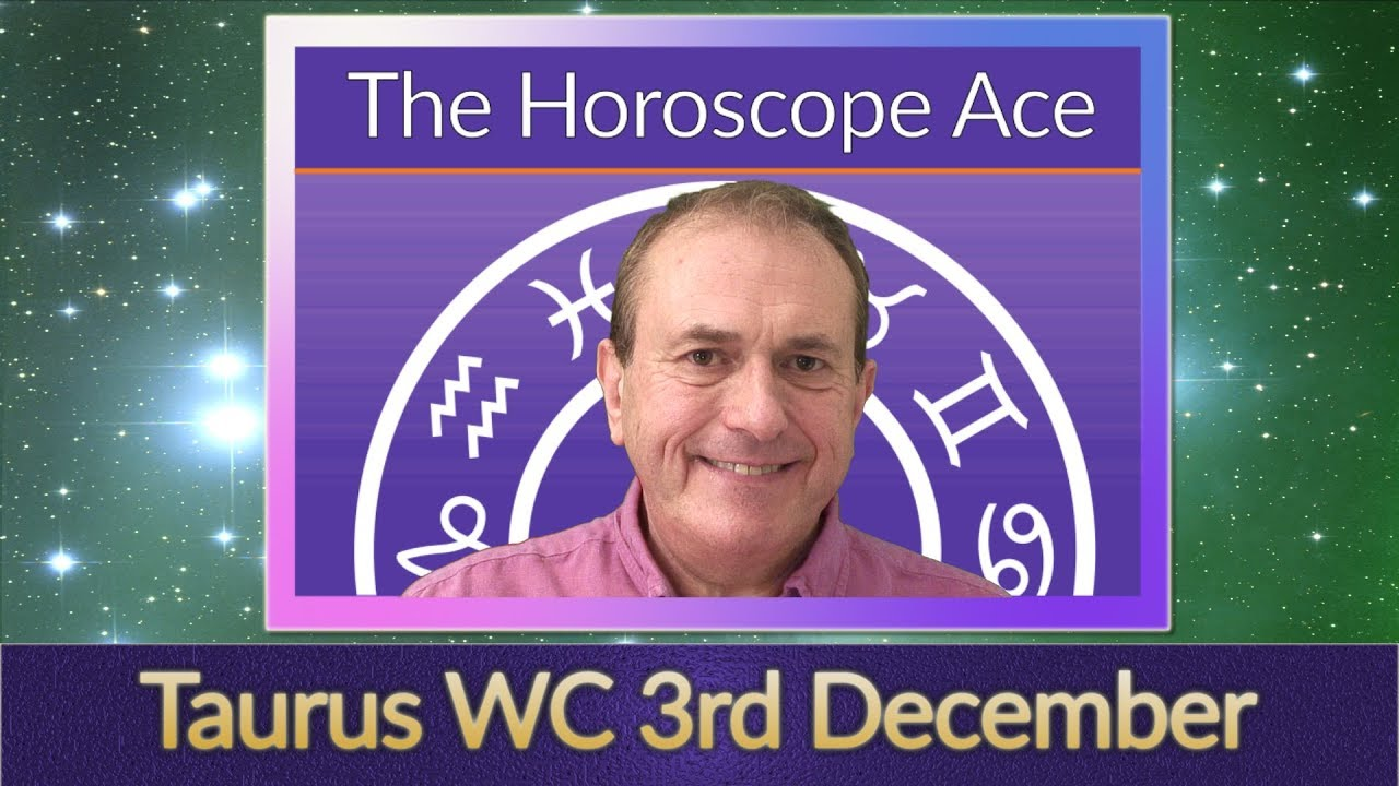 taurus weekly horoscope 9 december 2019 by michele knight