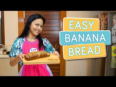 EASY BANANA BREAD RECIPE (great for business!) – Alapag Family Fun