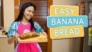 EASY BANANA BREAD RECIPE (great for business!) - Alapag Family Fun